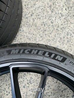 Porsche HRE 20 Wheel and Tire Set / HRE FF04 / Flowform Tarmac Finish Concave