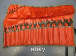 Snap On 14pc Metric Combination Wrench Set GOEXM Black Oxide Industrial Finish