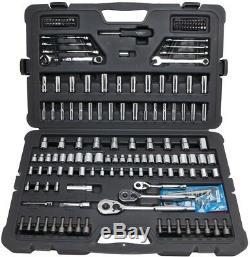 Stanley Mechanics Tool Set Chrome Finish Heavy Duty ANSI Compliant (201-Piece)