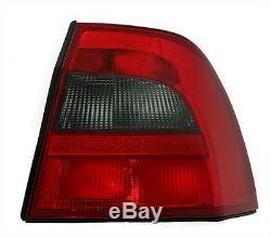 Taillights set for Opel Vectra B Limo 99-03 FACELIFT RED BLACK finish LIGHTS