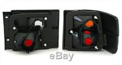 Taillights set in BLACK finish 4parts for VW Vento 91-98 rear LIGHTS