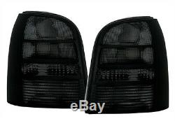 Taillights set in black finish for Audi A4 B5 AVANT Kombi TAIL LIGHTS 95-01