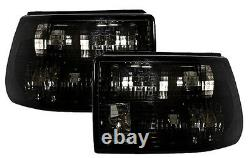 Taillights set in black finish for Opel Astra F Limo 91-98 TAIL LIGHTS