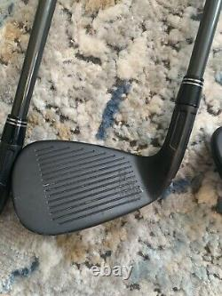 TaylorMade M2 Iron Set 4-PW Custom Black Finish Stiff Flex RH men's graphite