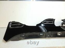Tesla Model X S Black Ebony Dash Dashboard vent Trim bezel Set Finisher Panel