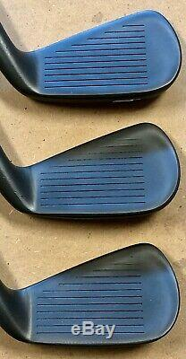 Titleist 712 CB Forged Iron Set (4-PW) MINT LH Xtreme Dark Finish PPD
