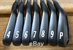 Titleist 714 CB Forged Iron Set (4-PW) MINT RH Xtreme Dark Finish BUN