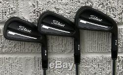 Titleist 714 CB Forged Iron Set (4-PW) NICE RH Xtreme Black Finish CHC