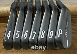 Titleist 714 MB Forged Iron Set (4-PW) NICE RH Xtreme Dark Finish TPI