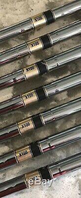 Titleist 718 MB Forged Iron Set (4-PW) RH Xtreme Dark Finish X100 CCO
