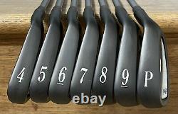 Titleist DCI 762 Iron Set (4-PW) Excellent RH Xtreme Dark Finish WLG