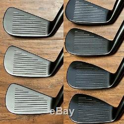 Titleist Forged 680 Iron Set (4-PW) MINT Xtreme Dark Finish Black Shafts