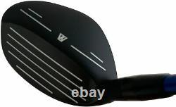 USGA R A Rules Hybrid Irons Golf Club Set, WLIIs Model, Whole Black Oil Finish