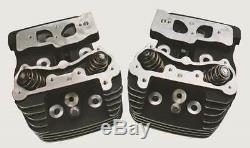 Ultima Black Finish Complete 4.250 Bore Cylinder Head Set for Ultima Engines