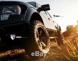 Used Adv1 Wheels Full Set Track Spec Standard Series Matte Black Finish/