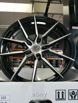 Velsen Wheel 103 18X8 +38 Offest Black & Machined Finish 5 Lugs Set of New